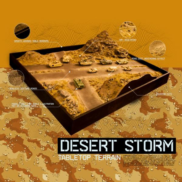 Desert Storm Terrain AF Diorama