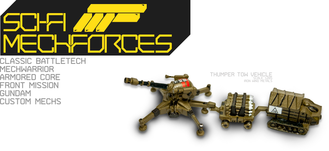 Classic Battetech - Star League - Thumper Tow Vehicle - MechForces