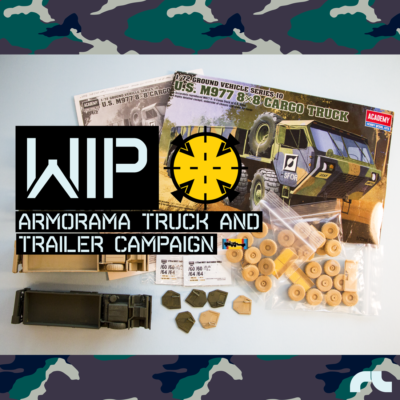 Armorama Truck and Trailer Campaing by AF Diorama