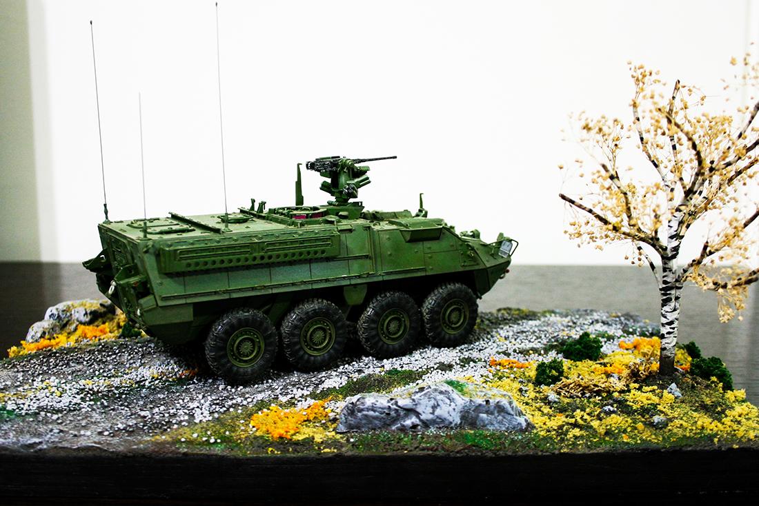 M1126 STRYKER - DIORAMA | 디오라마